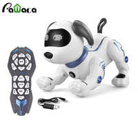 Smart Robot Dog Programming Stunt Dog Models Intelligent Robot Inverted Dance Bionic Robot Electronic Pet Dog Interactive Puppy