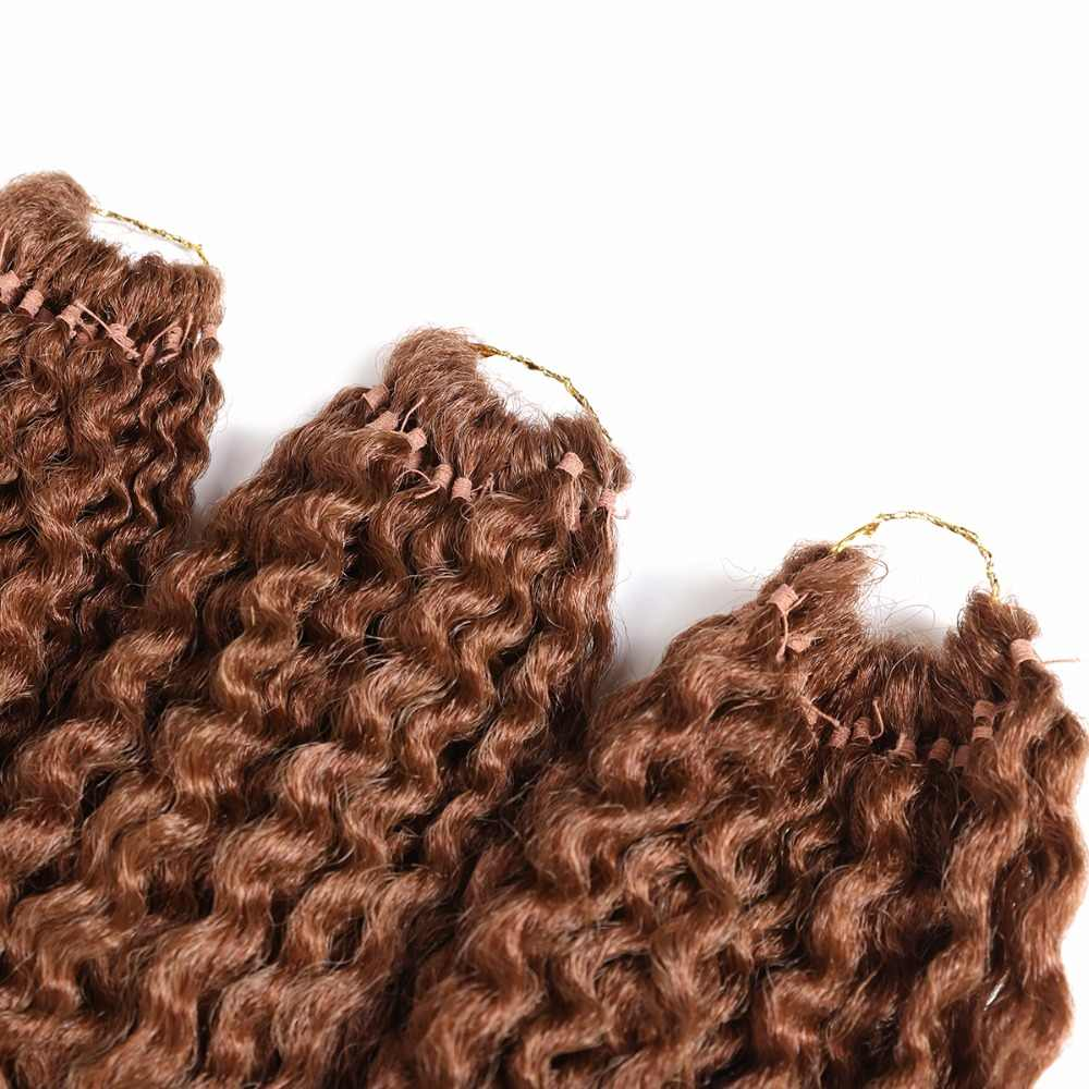 Freetress Synthetische Flechten Haar Extensions Niedrigen Temperatur Faser 3 Teile/paket 16 zoll X-TRESS Pre-Schleife Insel Twist Häkeln Zöpfe