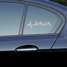 1 шт. наклейки на окна автомобиля для спортивных гонок для Dacia Duster Logan Sandero 2 Mcv Sandero аксессуары для стайлинга автомобилей