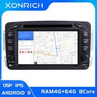 IPS DSP4G 2 Din Android 9.0 Car Radio DVD Player For Mercedes/Benz/W209/W203/W168/M/ML/W168/W463/Viano/W639/Vito/Vaneo Mutimedia