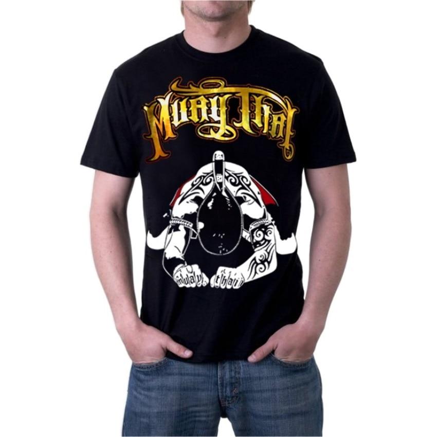 Men's Fitness Boxing MMA Fighting Tiger Muay Thai Breathable Cotton Sweatshirt For Judo Muay Thai Boxing Shorts Jaco Pretorian