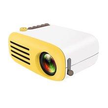 YG200 светодиодный мини-проектор с высоким разрешением ультра портативный Hd 1080p Usb проектор медиаплеер домашний кинотеатр проектор