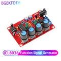 Función generador de señal DIY Kit sinusoidal/triángulo/salida cuadrada 5 HZ-400 KHZ generador de señal frecuencia ajustable amplitud de ICL8038