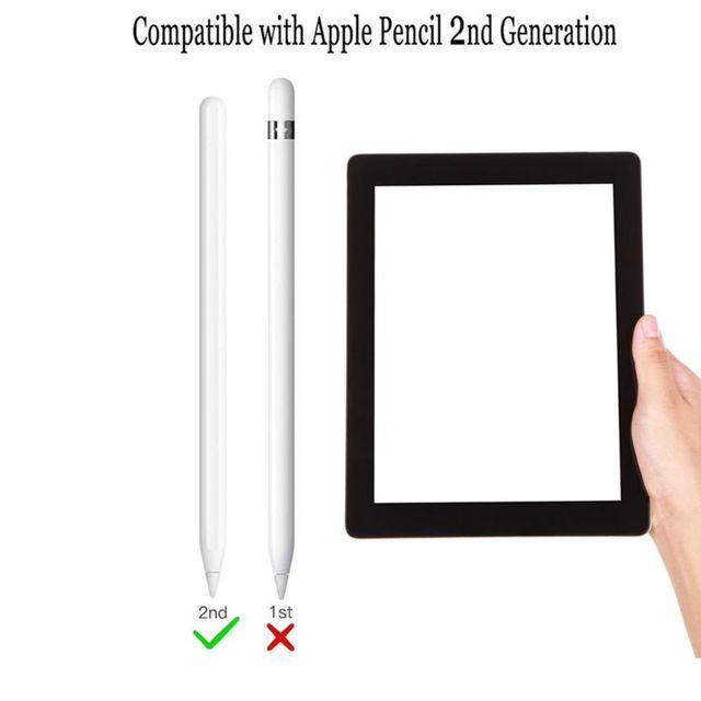 Nettes Schwein Muster Anti-scratch Silikon Schutzhülle Pouch Kappe Halter Fall Haut Für Apple Bleistift 2 für iPad Bleistift 2nd