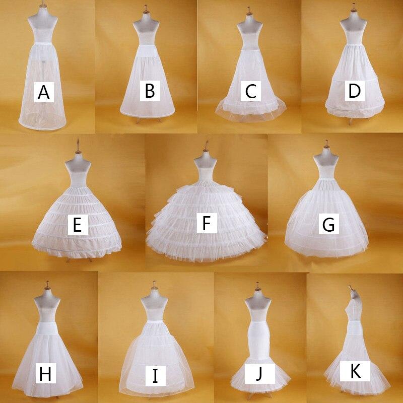 Mariée mariage jupon cerceau sous-jupe femmes blanc jupon robe en Tulle mariage jupe bouffante Vestidos Para La Boda formel