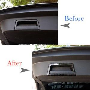 Image 3 - 자동차 뒷 트렁크 테일 도어 핸들 프레임 커버 트림 실버 ABS 크롬 랜드 로버 레인지 로버 Evoque (L551) 2020 자동차 액세서리