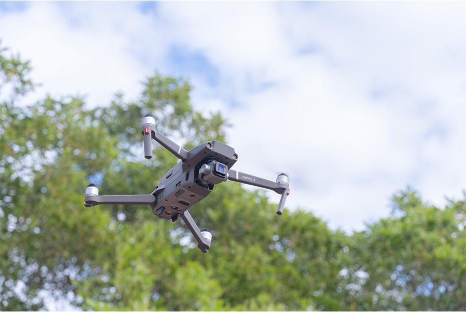 Filtro para drone
