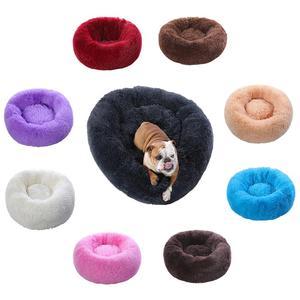 Legowisko dla psa kot pluszowy zimowy ciepły domek do spania zmywalny długi pluszowy pies hodowla legowisko dla kota legowisko do budy składana poduszka dla szczeniaka Mat