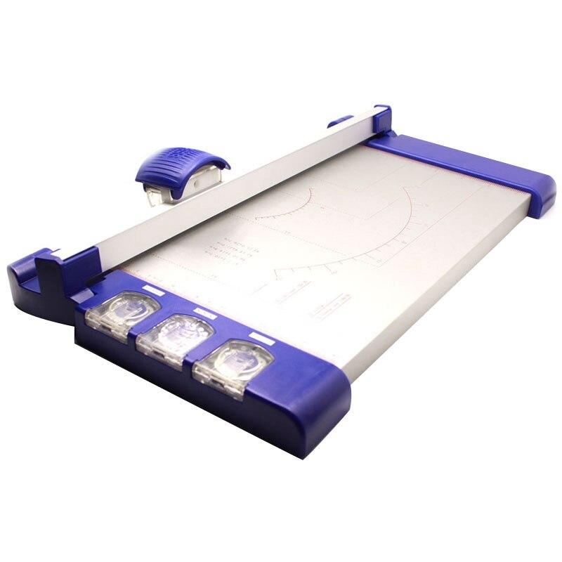 3 In 1 Cardstock Craft Paper Trimmer Cutting Machine A4 A5 Cutter Photo Guillotine Card Scrapbooking Handwork DIY Office School