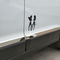 Reflective angel and devil stickers 3
