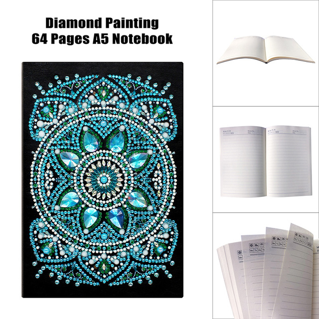 Diamond Mosaic Embroidery Accessories Special Shaped Craft Embroidery Mandala A5 60 pages Drop Shipping