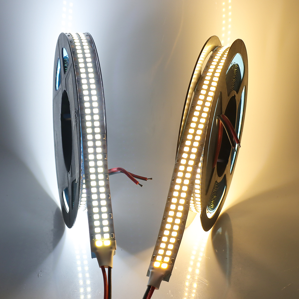 Super Bright 5M 2835 <font><b>Led</b></font> Strip Light <font><b>24V</b></font> 12V DC 480LEDs/m 5m 2400LED Double Row Flexible <font><b>Led</b></font> Tape Ribbon <font><b>Stripe</b></font> Home Decoration image