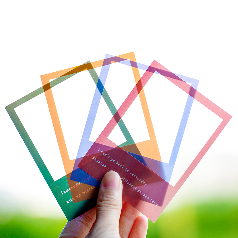 30 Pcs/lot GOrgous Series Sticky Notes Transparent Memo Pad Diary Stationary Scrapbook Decorative PET Photo Box Card
