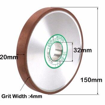 "1* 6 Inch Diamond Grinding Wheel Disc Carbide Cutter Grinder 5/4\\\"" Hole Grit 150 Sharpener Grinder Accessories Cutter Tool"