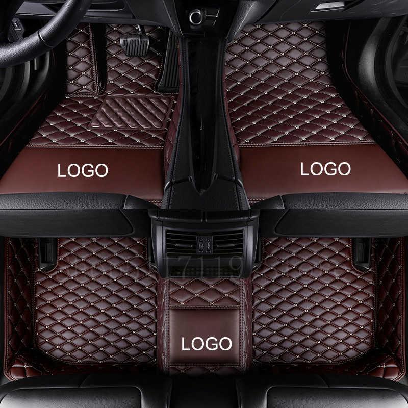 Convient pour tapis de voiture Mercedes-mercedes-benz CLA grade CLA180/CLA200/CLA250/CLA45 AMG multicolore personnalisé plus LOGO