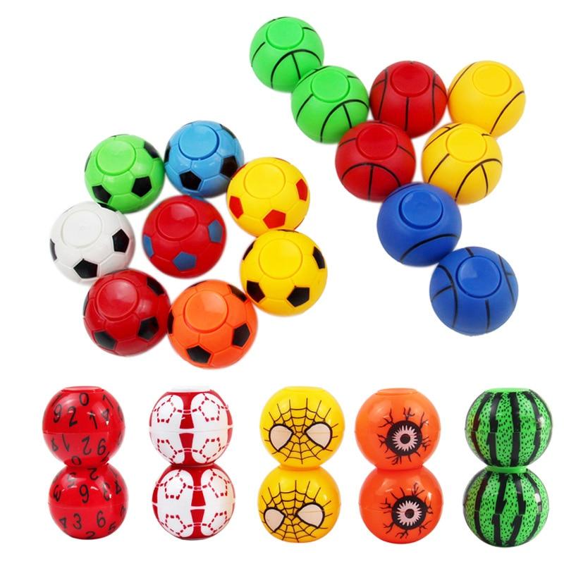 New Jump Fidget Spinner Fingertip Football Gyro Watermelon Eyes Gyro Game Hand Spinner Focus Anti Stress Toy Gyro Toy Fidget