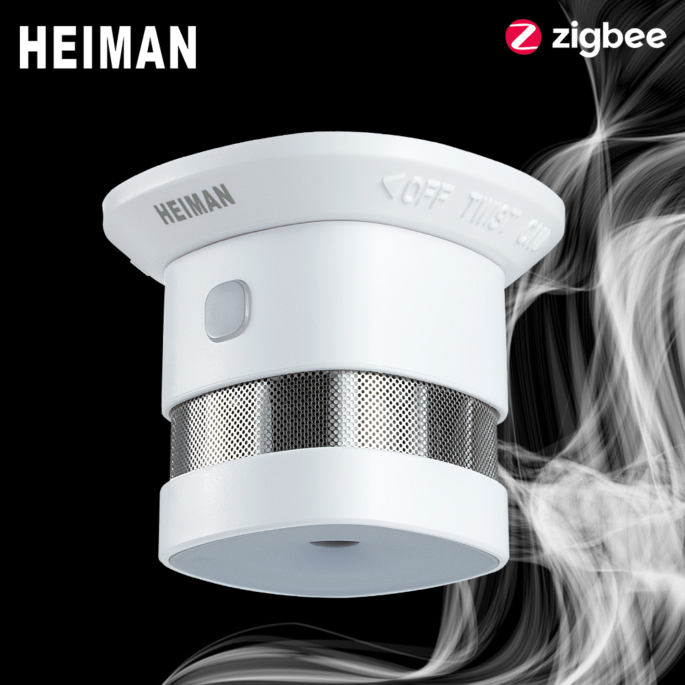 HEIMAN Zigbee 3 0 Fire alarm Smoke detector Smart Home system 2 4GHz High sensitivity Safety prevention Sensor Free Shipping