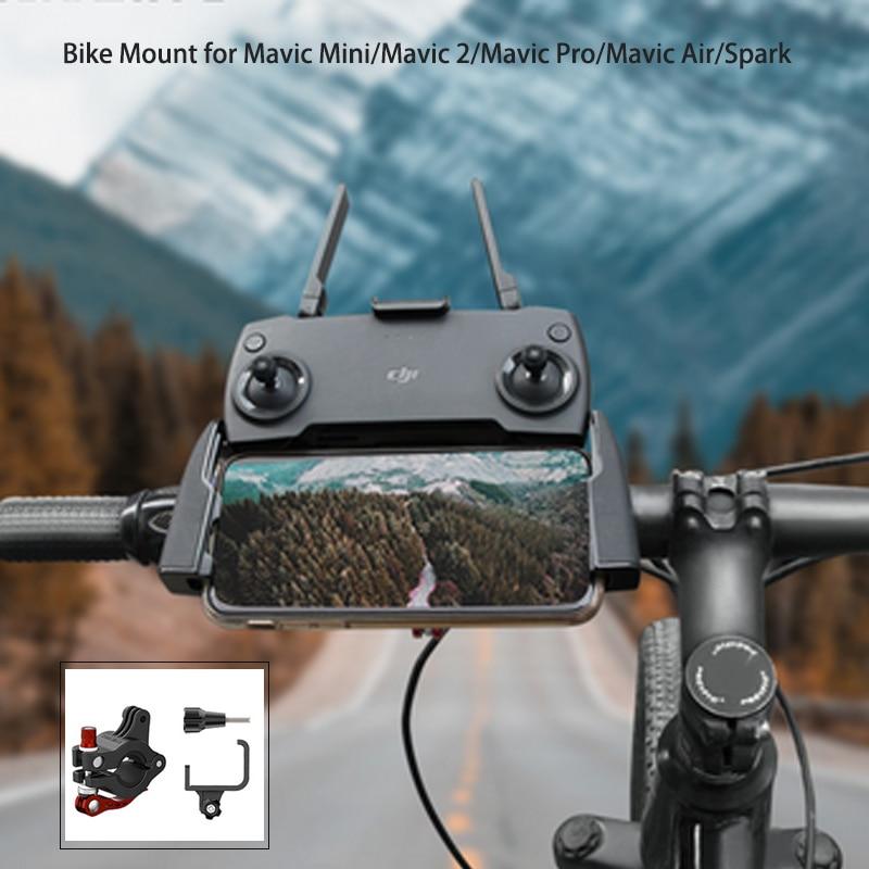Remote Controller Holder Bicycle Following Shot Bracket Bike Mount For DJI Mavic Mini Mavic 2 Mavic Pro Mavic Air Spark Drone