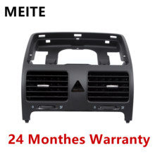 1K0819728F 1K0819728E ด้านหน้า Dash Central Air Outlet AirVent Coolant สำหรับ VW Jetta Golf GTI กระต่าย MK5 1K0819728H 1K0819743B(China)