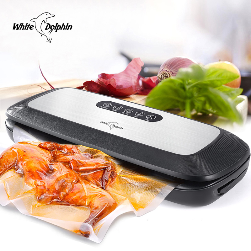 Food Vacuum Sealer Machine 220V 110V For Food Saver With Free Bags Vacuum Packer Machine Home Electric Vacuum Sealer Packaging