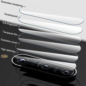 Image 4 - 4w1 szkło hartowane dla Huawei P inteligentny ochraniacz ekranu dla Huawei P inteligentny 2018 pełna pokrywa PSmart Z Y5P Y6P Y8S ochraniacz kamery