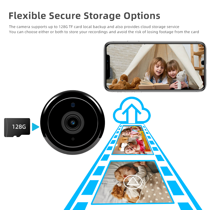 1080P Wireless Mini Camera With Night Vision And Fully Functional Security camera 4