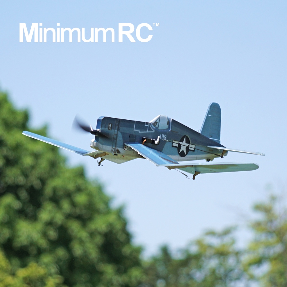 MinimumRC F4U Corsair RC airplane 360mm Kit+motor / Kit+motor+servos