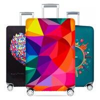Verdicken Gepäck Schutz Abdeckungen Reise Koffer Koffer Gepäck Elastische Staub Abdeckung Reise Zubehör für 18-32inch Koffer Abdeckung
