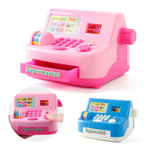 House Money-Toys Cashier Playing-Game Register Simulated Gifts Role Analog Kids Children