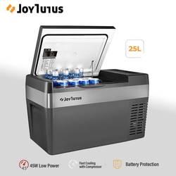 25л автомобильный холодильник 12В/24В 45 Вт компрессор кулер портативный холодильник морозильник грелка 2 способа зарядки для дома путешествия...