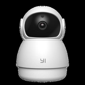 Купольная камера YI, 1080P FHD, ночное видение, 360 градусов, датчик движения, детский плач, Wi-Fi, время, Lapse Cloud