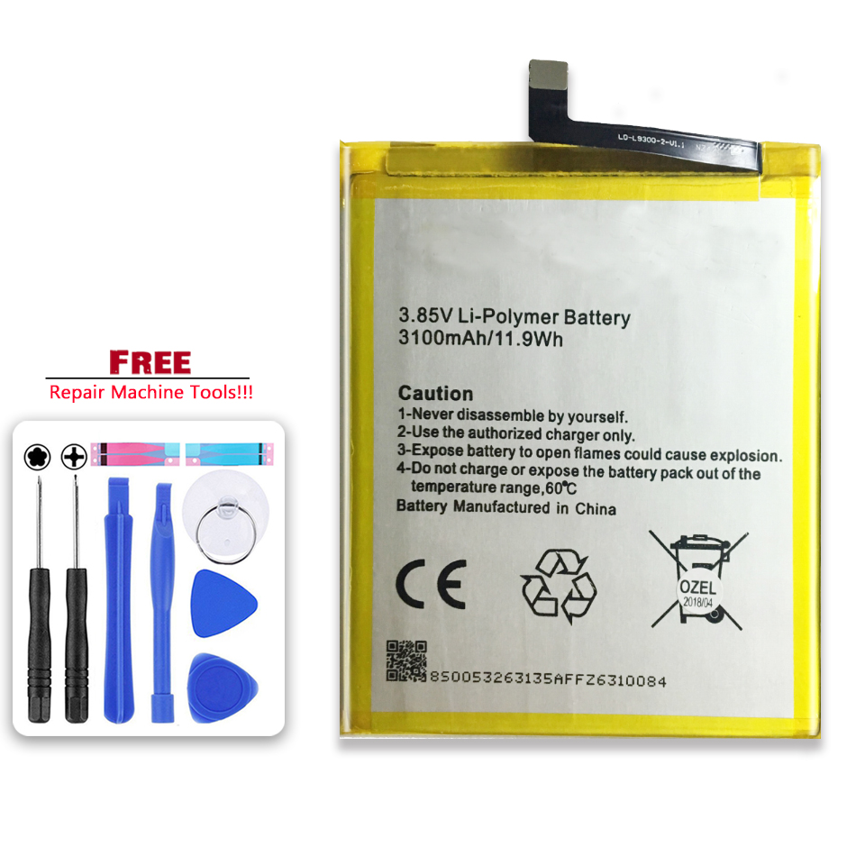 For GENERAL GM 5 PLUS Cell Phone Batteries For GENERAL GM5 PLUS 3100mAh Li-polymer Battery image