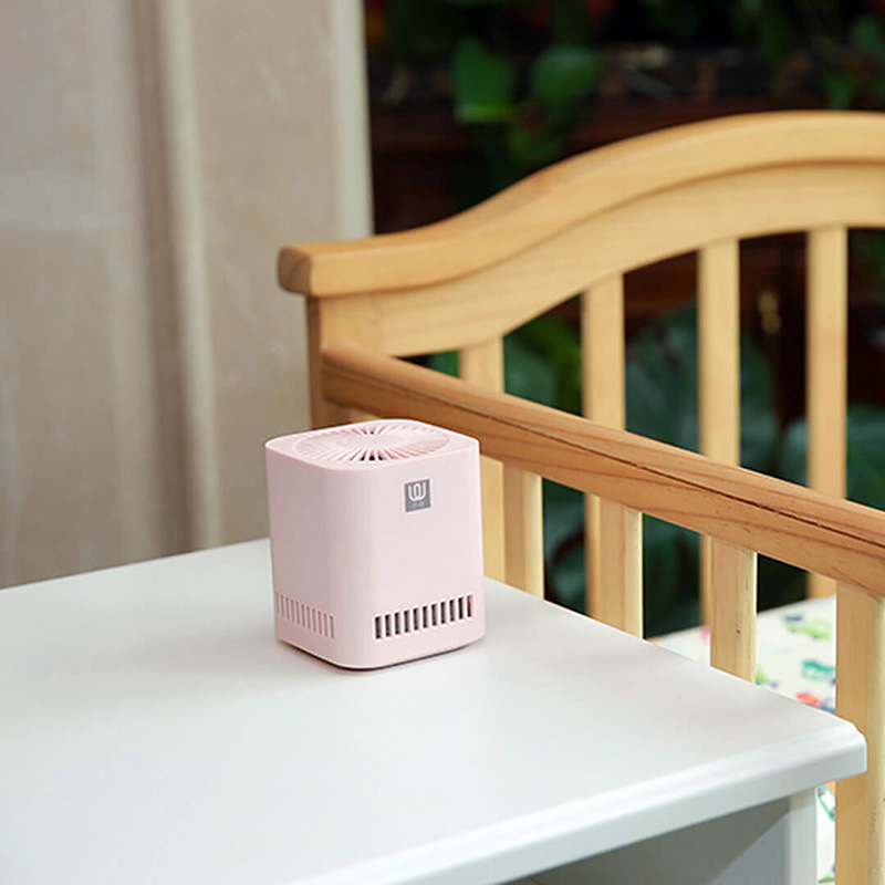 Image 4 - New XIAOMI MIJIA LingWu Air Purifier Miniature photocatalyst addition to formaldehyde wireless 2000mAh Battery Air Wash Cleaner-in Air Purifiers from Home Appliances