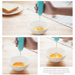 2019 New Milk Drink Coffee Whisk Mixer Electric Egg Beater Frother Foamer Mini Handle Stirrer Practical Kitchen Cooking Tool