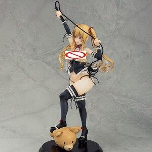 Image 5 - Asanagi סקסי ילדה דמות ילד רוקט Kurone 1/6 בקנה מידה PVC Actidon דמות אנימה איור דגם צעצוע סקסי איור אסיפה בובה מתנה