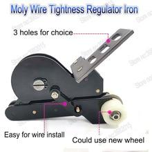 WEDM Molybdenum Wire Tightness Regulator Wheel Iron One for EDM Wire Cutting Machine