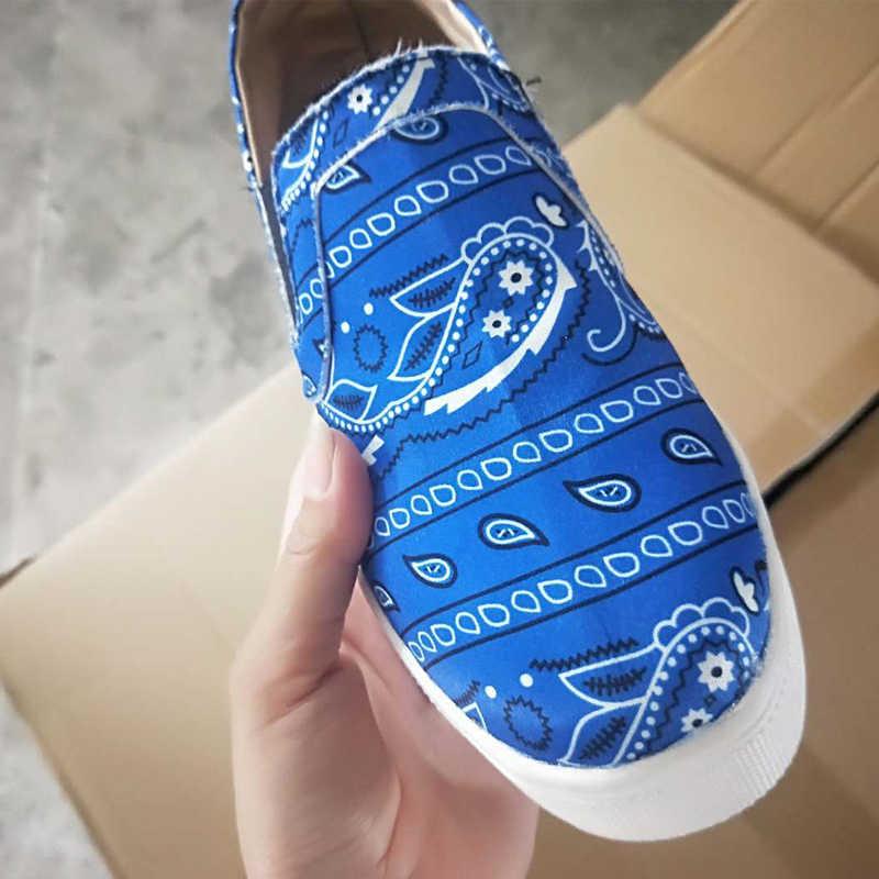 Dropship kadın düz mokasen baskı deri vulkanize ayakkabı yaz bahar kadınlar rahat ayakkabılar yuvarlak ayak kadın kızlar ayakkabı