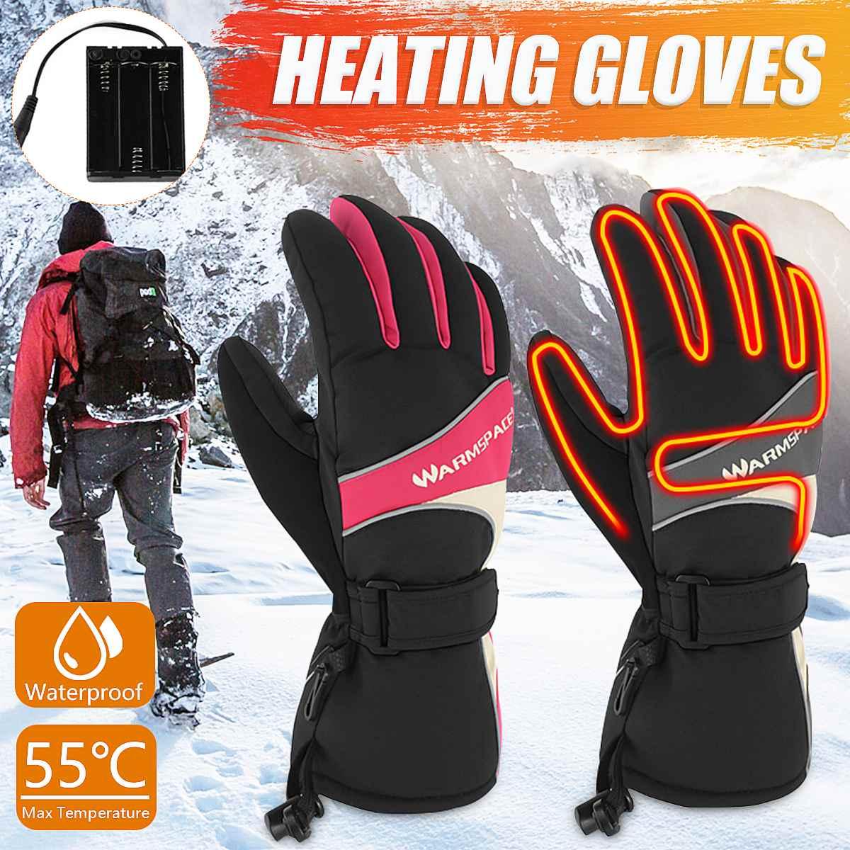 de esqui à prova dwinter água inverno mão mais quente