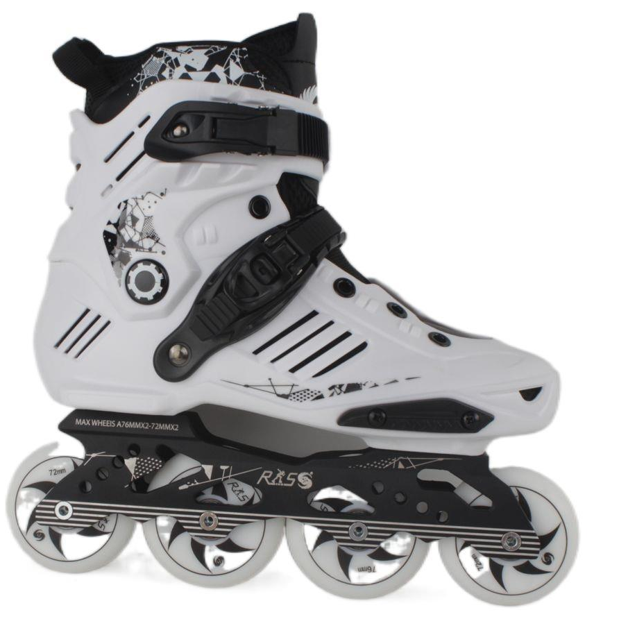 Pvc Inline Roller Skates Breathable Ajustable Professional Adult Skating Shoe Women Men Sneaker Size 35-44