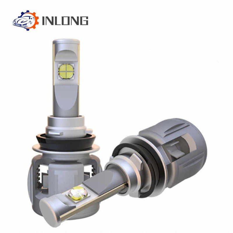 INLONG  H4 H7 LED Headlight Bulb H11 9005 9006 D2S D1S  X70 Chips 4300K 6000K 15600LM Car Led Auto Headlamp Headlight Fog Light