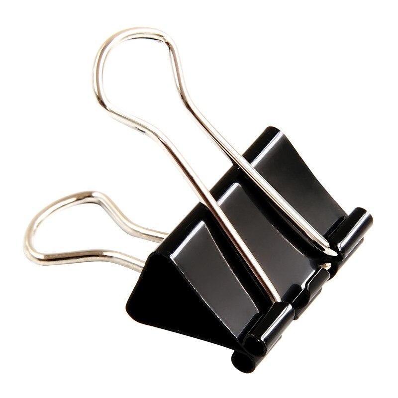 Черно-белый с узором fan wei jia большой размер связующий зажим черно-белый с узором файл зажимы для хранения ласточкин хвост Cli
