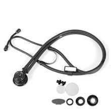 Estetoscópio médico multifuncional, equipamento médico para saúde e cardiologia
