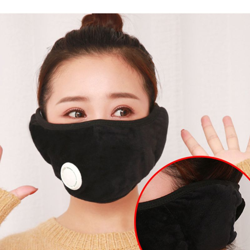 Multi-function Warm Adults Mask Autumn Winter Riding Warmth Cold Dustproof Masks C6UD