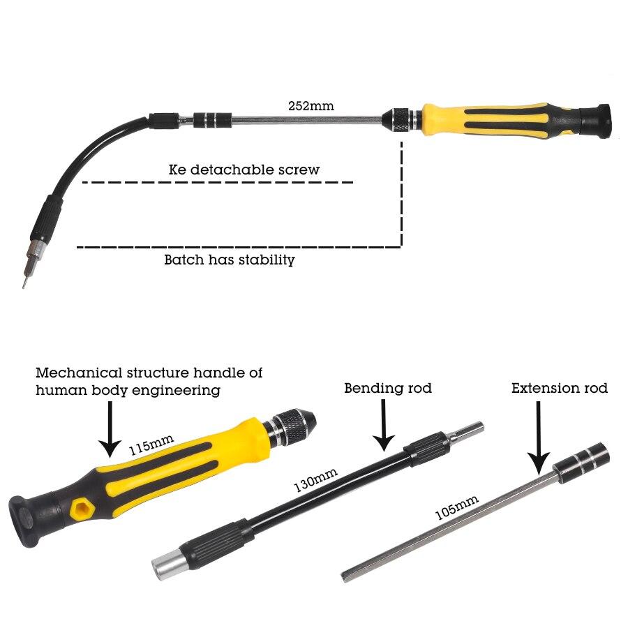 Precisión 45 en 1 Juego de destornilladores de mano magnéticos Torx - Herramientas manuales - foto 4