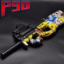 P90 Elektrische Spielzeug Wasser Pistole Paintball Live CS Assault Snipe Waffe Weiche Wasser Kugel Pistole Spielzeug Für Jungen Waffen Spielzeug jungen Geschenke