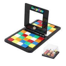 Красочные детские блоки-головоломки для раннего развития, забавная настольная игра, Интерактивный Стол, подарок для игры для детей