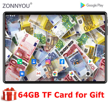 2021 nowy 10 cal tablet Octa Core 4GB pamięci RAM 64GB ROM 3000mAh baterii Google Android 9 Pie WiFi Bluetooth Tablet 10.1