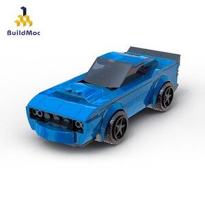 Строительные блоки Buildmoc для детей, развивающие игрушки для детей, игрушки для детей, Dodge Demon Car, вертолет, лодка