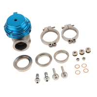 Car 38mm Wastegate Black With V Band And Flanges All Springs