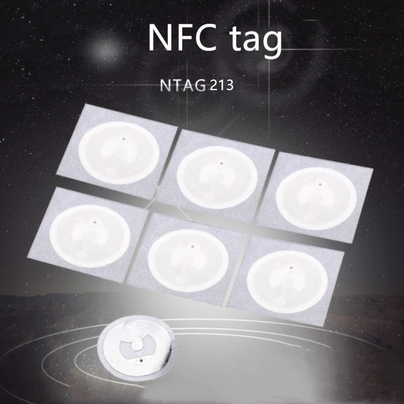 10 шт. RFID Ключ NXP MIFARE ультралегкие метки NFC Ntag213 наклейка 13,56 МГц NTAG 213 универсальная этикетка